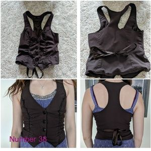 Maurices Brown Fashion Vest